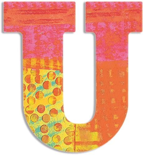 Djeco U - Peacock letter