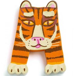 Djeco Houten letter A - Animals