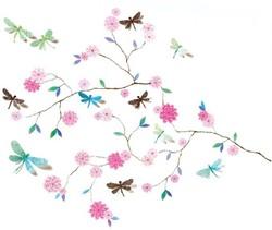 Djeco muursticker Dragonflies tree