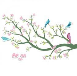 Djeco muursticker Cherry tree in bloom
