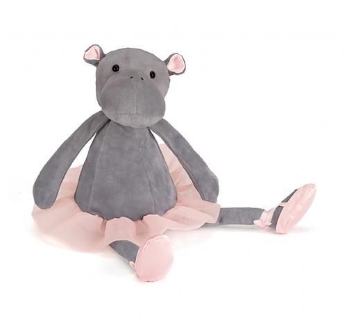 Jellycat knuffel Dancing Darcey Nijlpaard 33cm