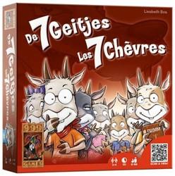 999 Games  kaartspel De zeven geitjes