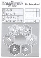 999 Games spel Catan: Het Dobbelspel: Scoreblok 3 stuks