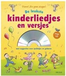 Deltas De leukste kinderliedjes en versjes met CD