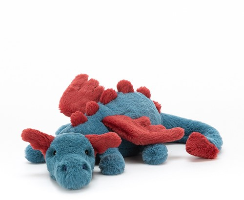 Jellycat knuffel Dexter Draak klein - 26 cm