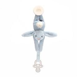 Jellycat Bashful Blauw Speenhouder