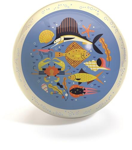 Djeco Speelbal Zeedieren (diameter 22 cm)
