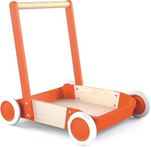Djeco Blokkenwagen Oranje Trott'it!