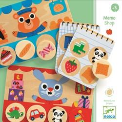 Djeco kinderspel Memo Shop