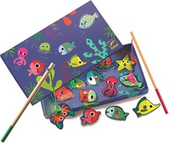 Djeco kinderspel Fishing colour