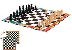 Djeco bordspel Nomad schaken en dammen