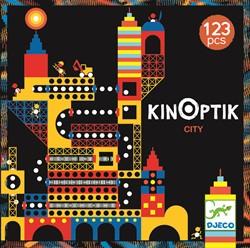 Djeco puzzelspel De stad - 123 stukjes