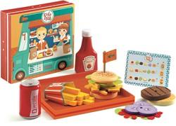 Djeco keuken accessoires Snackbar Ricky & Daisy