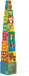 Djeco 10 stapelblokken Mijn dierenvrienden