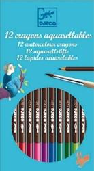 Djeco 12 watercolour pencils