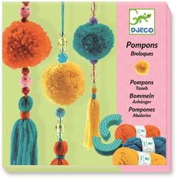 Djeco knutselpakket 3 beads pompons