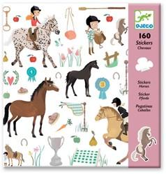 Djeco Stickers Les chevaux