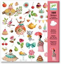 Djeco Stickers Le goûter des princesses