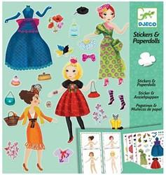 Djeco Paper dolls - Massive fashion