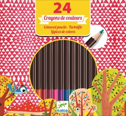 Djeco 24 pencils