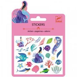 Djeco Mini stickers Sous la mer