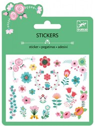 Djeco Mini stickers Petites fleurs