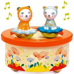 Djeco magnetisch muziekdoosje Twins Melody