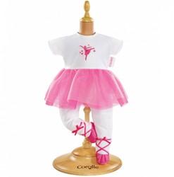 Corolle accessoire voor 36cm pop - Ballerina Suit- Fuchsia
