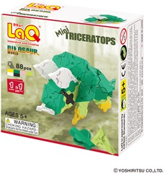 LaQ Dinosaur World Mini Triceratops