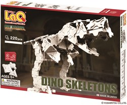 LaQ Dinosaur World Dino Skeleton