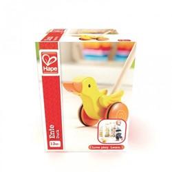Hape houten duwstok duck