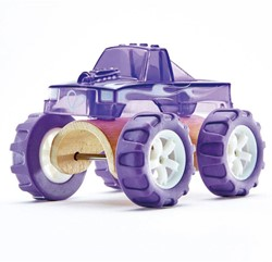 Hape houten speelvoertuig Monster Truck