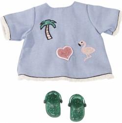 Götz accessoires Combination baby dolls, Jeansstrand, 3-pcs.
