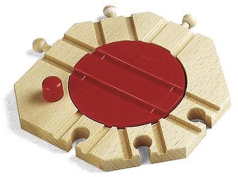 BRIO Mechanische draaitafel - 33361