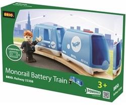Brio  houten trein Monorail trein op batterij 33308