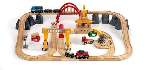 BRIO Treinset vrachtvervoer - 33097