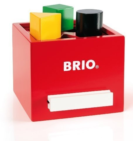 BRIO Sorting Box red