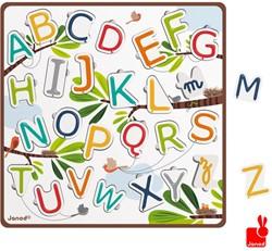 Janod  vormenpuzzel Alfabet