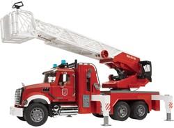 Bruder Hulpdienste speelvoertuig Mack Brandweer ladderwagen