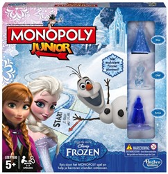 Hasbro  kinderspel Monopoly Junior (Frozen)