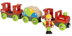 Brio  houten trein accessoire Fun Park Clown Train 33756