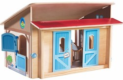Haba  Little Friends houten poppenhuis Paardenstal