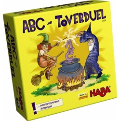 Haba  reisspel Supermini ABC - toverduel 5494