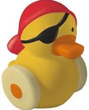 Haba  badspeelgoed Spuitfiguur Kalle WC-piraat