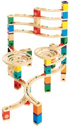 Hape Quadrilla houten knikkerbaan set The Cyclone
