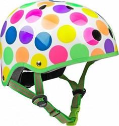 Micro step Helm Neonstippen - maat S