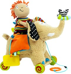 Dolce Toys Pull along elephant