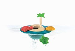Plan Toys  houten badspeelgoed Floating Island 5713