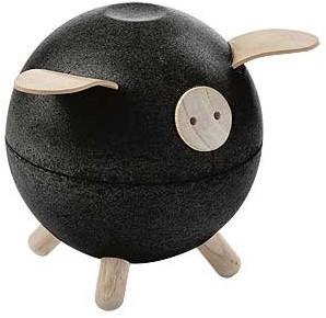 Plan Toys  kindermeubel spaarpot Piggy bank - Black