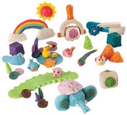 Plan Toys  houten boetseerset Creative dough set